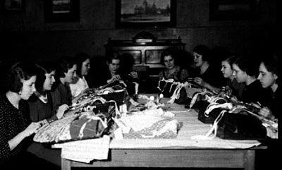 Rauman nuorisoseuran nypläyskurssi 1936